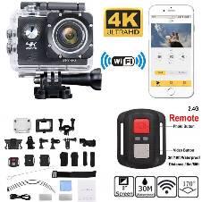 Ultra HD 4K 1080p WIFI Waterproof Sports অ্যাকশন ক্যামেরা বাংলাদেশ - 8201581