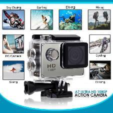 Ultra HD 4K 1080p WIFI Waterproof Sports অ্যাকশন ক্যামেরা বাংলাদেশ - 8201583
