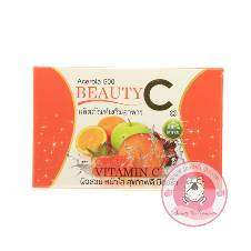 Acerola 500 beauty Vitamin c Capsule 37g   Thailand