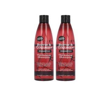 Biotin & Collagen Thickening Shampoo & Conditioner Set 500ml UK