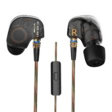 KZ ATE Copper Driver Ear Hook Hifi in Ear Earphone