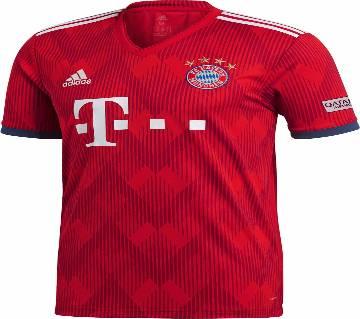FC Bayern Home হাফ স্লিভ ক্লাব জার্সি