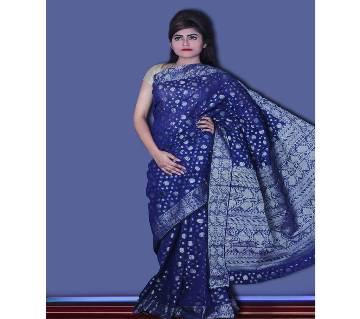 Jamdani Half Silk Sharee
