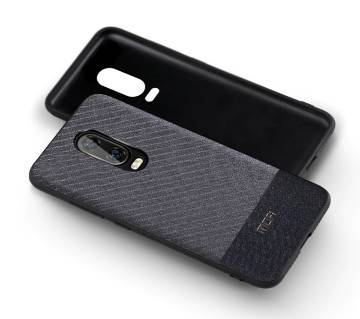 Mofi Handcraft Gentleman Fabric Cloth Case for OnePlus 6T