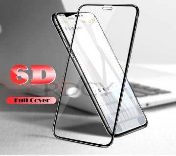 6D টেম্পারড গ্লাস প্রটেক্টর For iPhone Xs Max