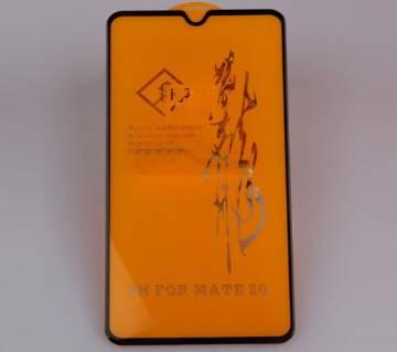 6D টেম্পারড গ্লাস প্রটেক্টর For Huawei Mate 20 Black