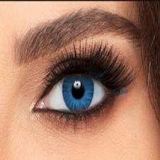freshlook brilliant blue contact lens