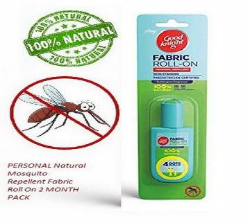 Natural Mosquito Repellent Fabric Roll On 2 MONTH PACK-8ml-India