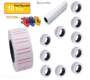 Price tag sticker roll for Price Labeller Gun, used for the price marking in the grocery stores, supermarkets, and many other industries, Suitable for