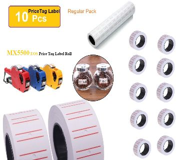 Price tag sticker roll for Price Labeller Gun, Regular Pack ,used for the price marking in the grocery stores, supermarkets, and many other industries