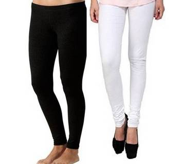 WOMEN LEGGINGS COMBO OFFER BLACK AND WHITE