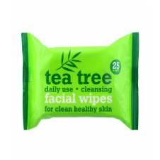 Tea Tree Cleansing ফেশিয়াল ওয়াইপস  25 Wipes - UK