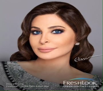 Freshlook Contact lanses Brilliant Blue