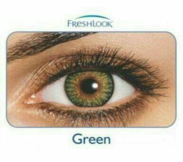 FreshLook কনট্যাক্ট লেন্স  Green with 120 ml FreshLook solution water