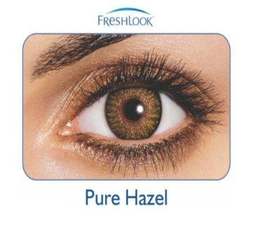 FreshLook কনট্যাক্ট লেন্স  Pure Hazel with 120 ml FreshLook solution water