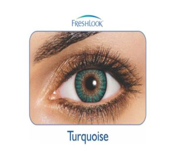 FreshLook কনট্যাক্ট লেন্স  Turquoise with 120 ml FreshLook solution water