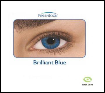 FreshLook কনট্যাক্ট লেন্স  Brilliant Blue with 120 ml FreshLook solution water