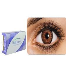 freshlook brown lens