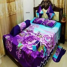8 Piece Double Bed Sheet
