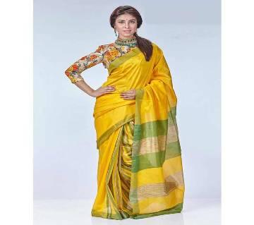 Dhanshiri Taant Cotton Sharee