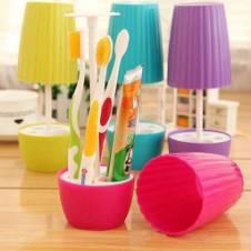 Bonsai brush-toothpaste holder