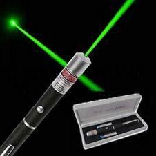 Laser pointer disco light