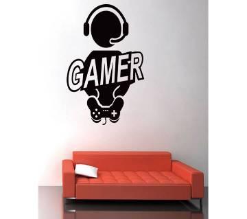 Gamer Adhesive ওয়াল স্টিকার ফর হোম ডেকোরেশন