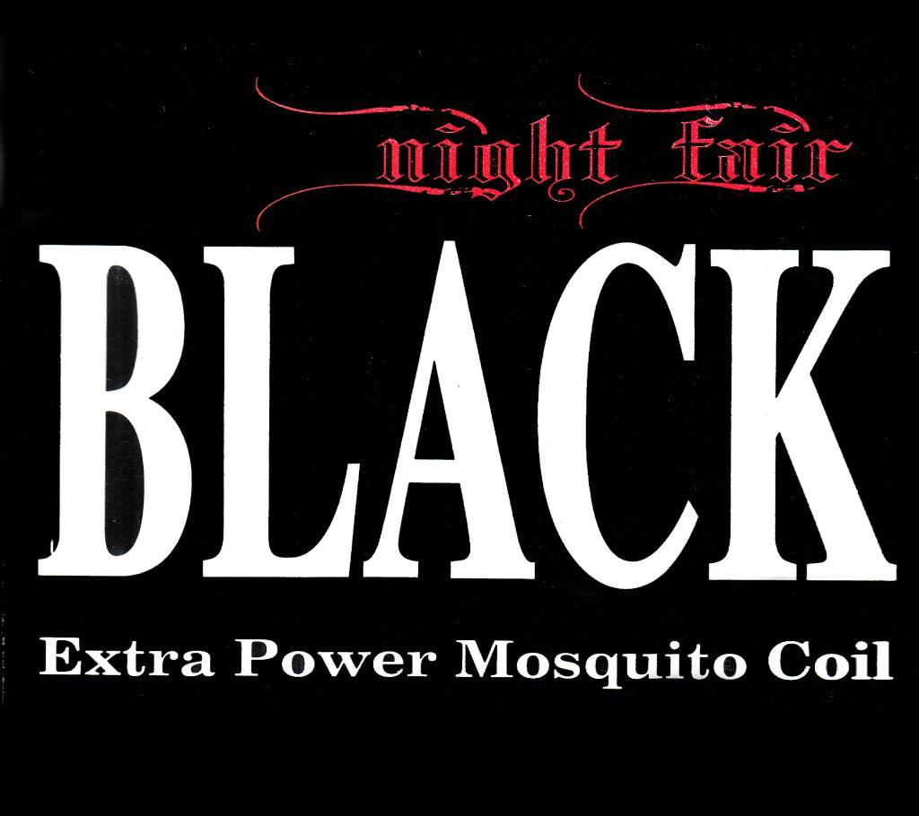 Night Fair BLACK Extra Power মসকুইটো কয়েল - 4 pack বাংলাদেশ - 826271
