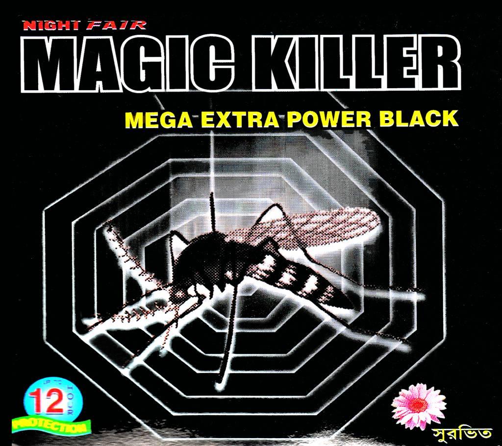 Night Fair Magic Killer Mega Extra Power Black মসকুইটো কয়েল - 4 pack বাংলাদেশ - 826310