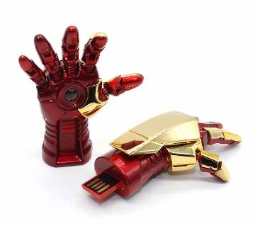 Iron Man Hand shaped Pen drive - 8 GB
