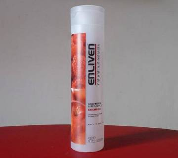 Enliven Raspberry and Red Apple Shampoo - 400 ml