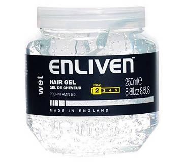Enliven হেয়ার জেল (Wet) - 250ml - England