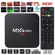 MXQ PRO অ্যান্ড্রয়েড 7.1 টিভি বক্স