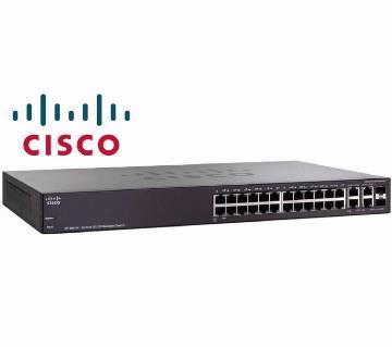 Cisco SRW224G4 নেটোয়ার্কিং সুইচ 24 port