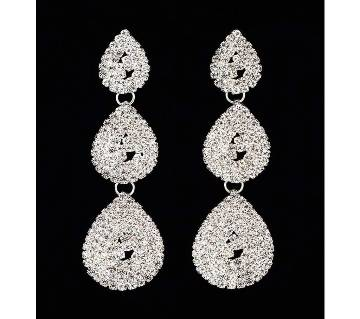 Crystal Long Dangle Earrings