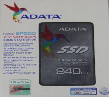 ADATA 2.5 SATA 240GB 6Gb/s SSD