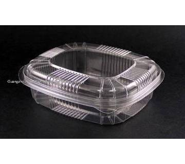 OZ Disposable Clear Plastic box - 100 Pcs