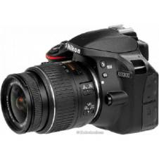 Nikon D3300 DSLR 24.2 MP FHD Video With 18-55mm Lens