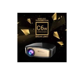 Cheerlux C6 Wireless মিনি প্রজেক্টর ওয়াইফাই