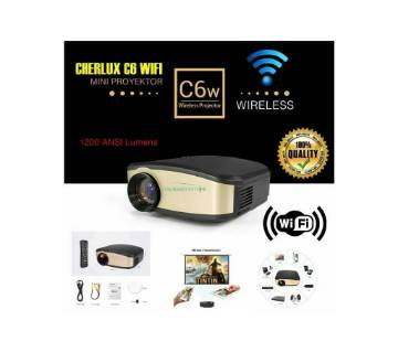 Cheerlux C6 Wifi Hd projector