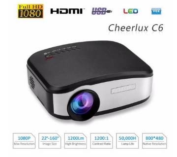 High-quality full hd tv projector