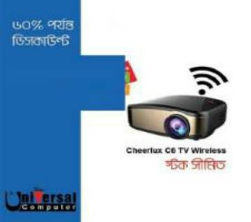 C6 cheerulex Hd Wifi projector