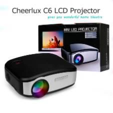 C6 LED মাল্টিমিডিয়া প্রজেক্টর HD