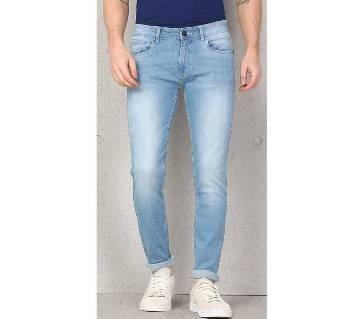 semi narrow fit jeans pant for men