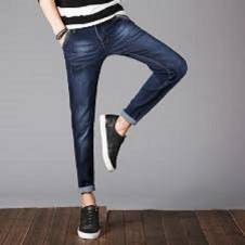 Narrow fit jeans pant for men