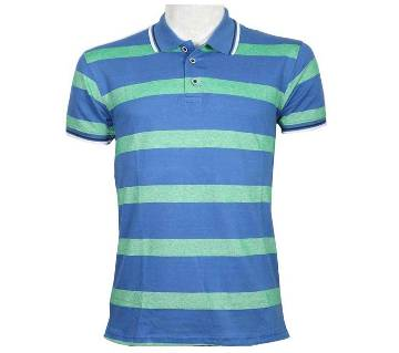 Mens Cotton Solid Color Polo Shirt