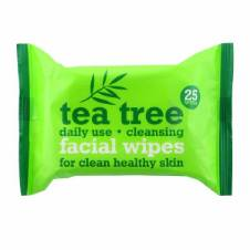 Tea Tree Cleansing Facial Wipes - 25 Wipes UK