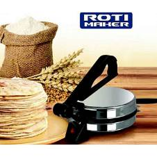 Roti Maker - Black And Silver