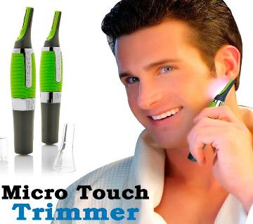 Micro Touch Max Personal Ear Nose Neck Eyebrow Hair Trimmer Shaver Cutter Remover