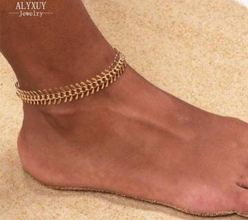 palm leaf anklet